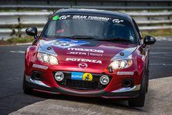 #195 Mazda Motorsports Team Jota Mazda MX-5: Teruaki Kato, Stefan Johansson, Owen Mildenhall