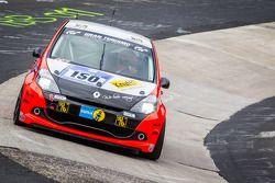 #150 Roadrunner Racing Renault Clio Cup: Lutz Rühl, Thomas D. Hetzer, Boris Hrubesch, Jürgen Peter