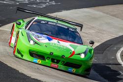 #29 GT Corse by Rinaldi 法拉利 458 Italia GT3: Alex和er Mattschull, 和rea Barlesi, 皮埃尔·埃雷, Mike Jäger