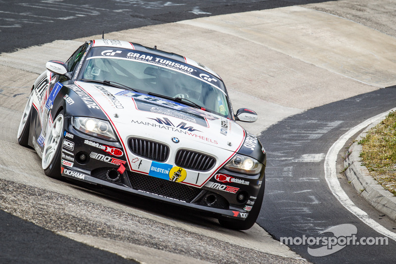 #182 Adrenalin Motorsport 宝马 Z4 3.0si: 和reas Schettler, Raphael Klingmann, Jens Dahl