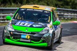 #147 MSC Sinzig e.V. in ADAC Renault Clio 3: Rolf Weissenfels, Dietmar Hanitzsch