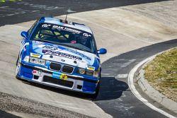 #183 Adrenalin Motorsport 宝马 E36 M3: Niels Borum, Maurice O'Reilly, Michael Eden