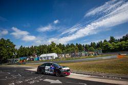 #306 Team Ring Police BMW M235i Racing: Jean-Pierre Kremer, Jan-Erik Slooten