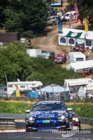 #205 Mathilda Racing Volkswagen Scirocco GT-24: Michael Paatz, Klaus Niedzwiedz, Johannes Stuck, Wol