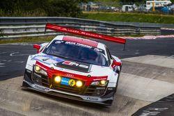#4 Phoenix Racing, Audi R8 LMS ultra: Christopher Haase, Christian Mamerow, René Rast, Markus Winkel