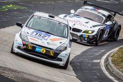 #152 Roadrunner Racing Renault Clio Cup: Volker Kühn, Joachim Steidel, Hugh Buckley, Vicenzi Ugo