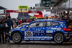#205 Mathilda Racing 大众 Scirocco GT-24: Michael Paatz, Klaus Niedzwiedz, Johannes Stuck, Wolfgang Ha