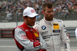 Timo Scheider, Audi Sport Takımı Phoenix Audi RS 5 DTM ve Martin Tomczyk, BMW Schnitzer Takımı BMW M
