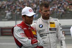 Timo Scheider, Audi Sport Team Phoenix Audi RS 5 DTM and Martin Tomczyk, BMW Team Schnitzer BMW M4 D