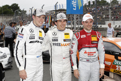 Qualifying, 2nd Paul Di Resta, Mercedes AMG DTM-Team HWA DTM Mercedes AMG C-Coupé, 1st Robert Wicken