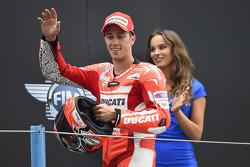 Secondo posto per Andrea Dovizioso, Ducati Team