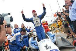 Carlos Huertas fête sa première victoire