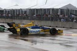 Marco Andretti, Andretti Autosport Honda en tête à queue