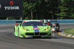 #57 Krohn Racing Ferrari F458: Tracy Krohn, Nic Jonsson