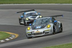 #81 GB Autosport Porsche 911 GT America: Ben Barker, Damien Faulkner , Michael Avenatti