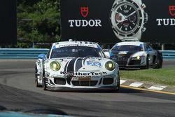 #22 Alex Job Racing Porsche 911 GT America: Cooper MacNeil. Leh Keen