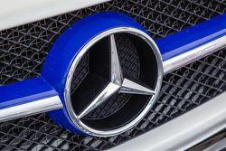#22 Rowe Racing Mercedes-Benz SLS AMG GT3 detail
