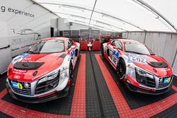 Audi Race Experience paddockgebied