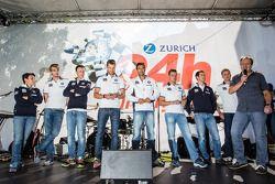 Claudia Hürtgen, Jens Klingmann, Dominik Baumann, Martin Tomczyk, Lucas Luhr, Dirk Müller, Alexander Sims et Dirk Werner