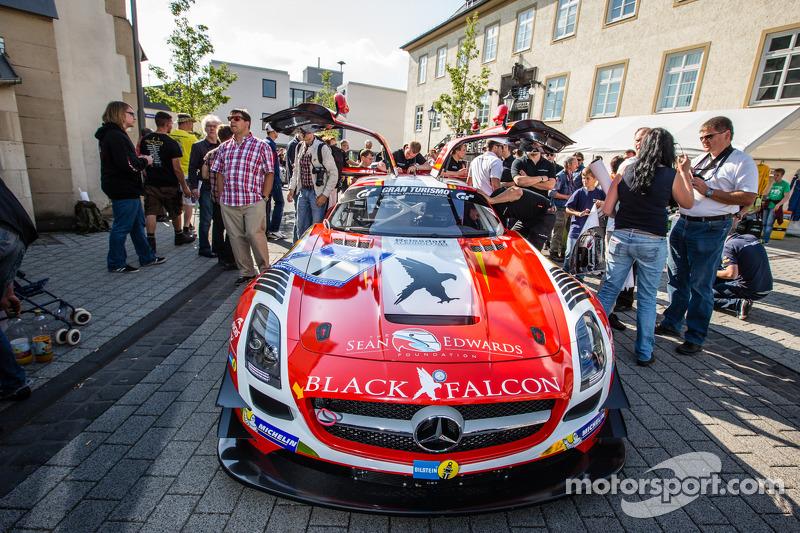 #1 Black Falcon Mercedes-Benz SLS AMG GT3