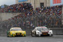 Marco Wittmann, BMW Team RMG, BMW M4 DTM, und Mike Rockenfeller, Audi Sport Team Phoenix, Audi RS 5