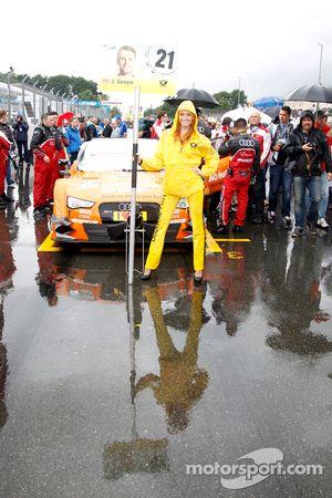 Gridgirl von Jamie Green, Audi Sport Team Abt Sportsline, Audi RS 5 DTM