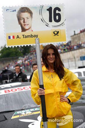Gridgirl de Adrien Tambay, Audi Sport Team Abt Sportsline Audi RS 5 DTM