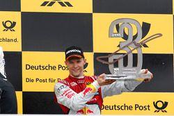 Podium, 3. Mattias Ekstrom, Audi Sport Team Abt Sportsline, Audi A5 DTM