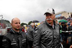 Dieter Zetsche, CEO de Daimler AG.