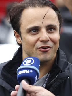 Felipe Massa, Williams, Guest of Mercedes