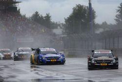 Pascal Wehrlein, Mercedes AMG DTM-Takımı HWA DTM Mercedes AMG C-Coup_à ve Gary Paffett, Mercedes AMG