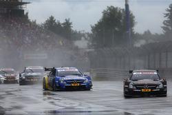 Pascal Wehrlein, Mercedes AMG DTM-Team HWA DTM Mercedes AMG C-Coup_à and Gary Paffett, Mercedes AMG