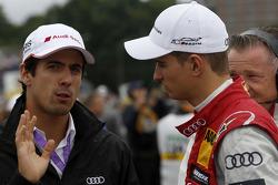 Lucas di Grassi, Audi Sport Team Joest and Nico Muller, Audi Sport Team Rosberg Audi RS 5 DTM
