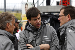 Toto Wolff, Sporting Director Mercedes-Benz.