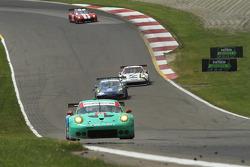 #17 Team Falken Tire, Porsche 911 GT3 RSR: Wolf Henzler, Bryan Sellers