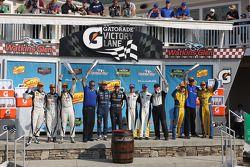 Class winners: P: Richard Westbrook, Michael Valiante, P2: Jonathan Bennett, Colin Braun, GTLM: Jan Magnussen, Antonio Garcia GTD: Dane Cameron, Markus Palttala