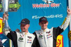 GTLM winners Jan Magnussen, Antonio Garcia