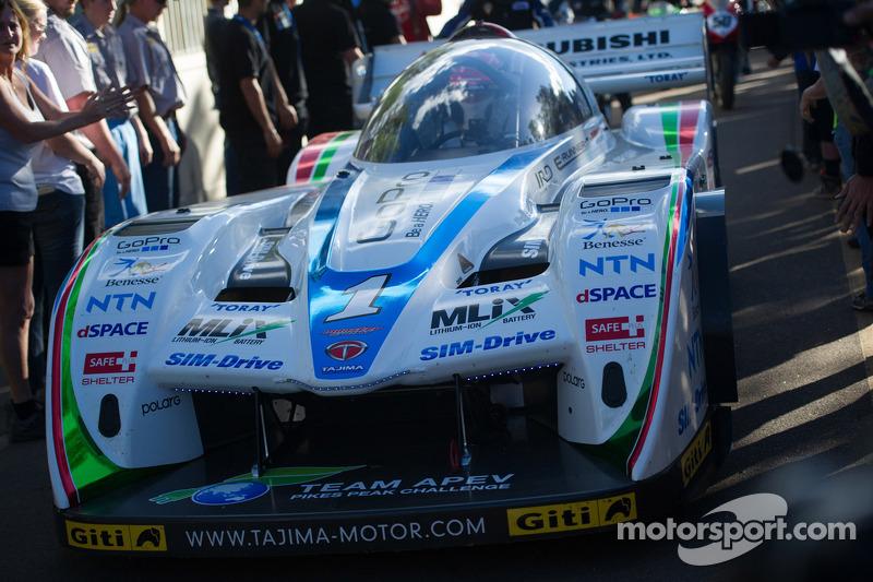 #1 Tajima Motor Monster Sport 匹克峰挑战赛特别版: 田嶋伸博