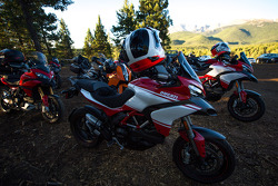 Ducati - Les motos prêtes pour la course