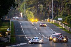 #1 Audi Sport Team Joest Audi R18 E-Tron Quattro: Lucas Di Grassi, Marc Gene, Tom Kristensen, #26 G-