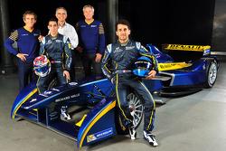 Sebastien Buemi y Nicolas Prost anunciados como pilotos de eDams