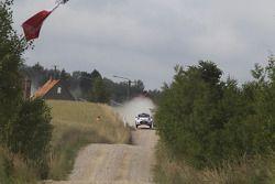 Robert Kubica e Maciek Szczepaniak su Ford Fiesta WRC