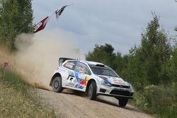 Andreas Mikkelsen et Ola Floene, Volkswagen Polo WRC, Volkswagen Motorsport