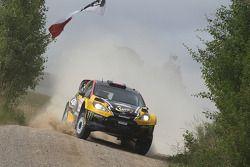 Krzysztof Holowczyc e Lukasz Kurzeja, Ford Fiesta WRC