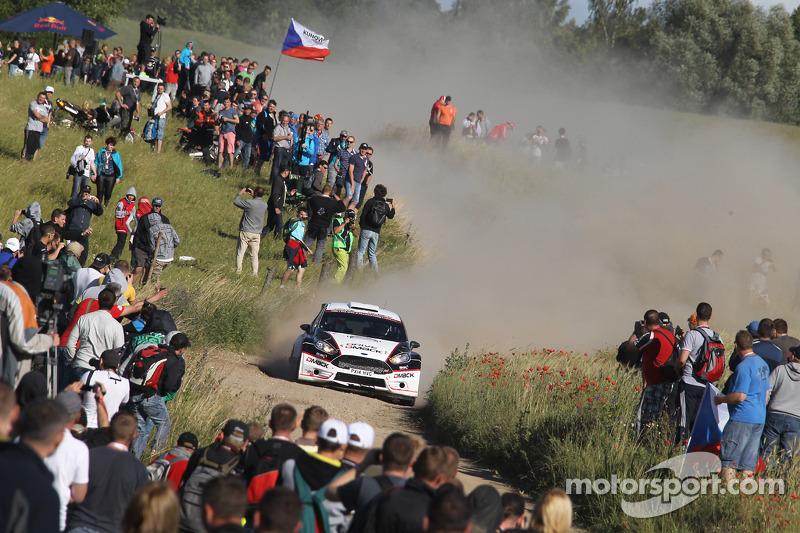 Jari Ketomaa y Kaj Lindstrom, Ford Fiesta R5