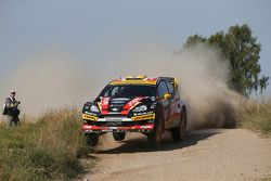Martin Prokop et Michal Ernst, Ford Fiesta RS WRC