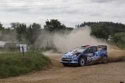 Michal Solowow et Maciej Baran, Ford Fiesta WRC