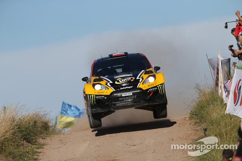 克里斯托弗·霍洛维茨和卢卡斯·库尔蔡加,福特嘉年华WRC