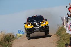 Krzysztof Holowczyc et Lukasz Kurzeja, Ford Fiesta WRC