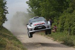 Henning Solberg et Ilka Minor, Ford Fiesta WRC